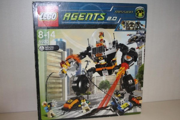 Lego Agents 2.0 Roboter