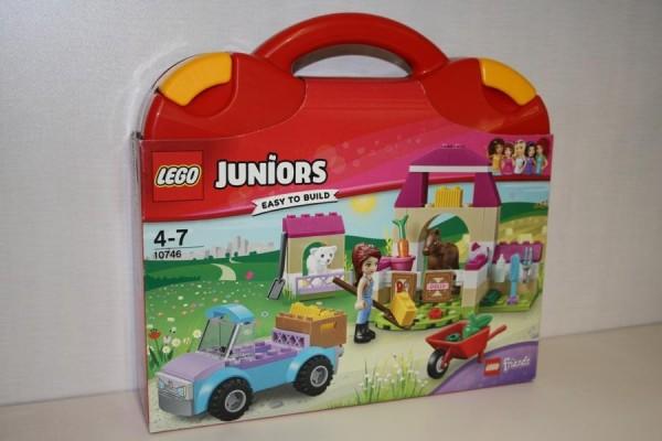 Lego Juniors Pferdekoffer