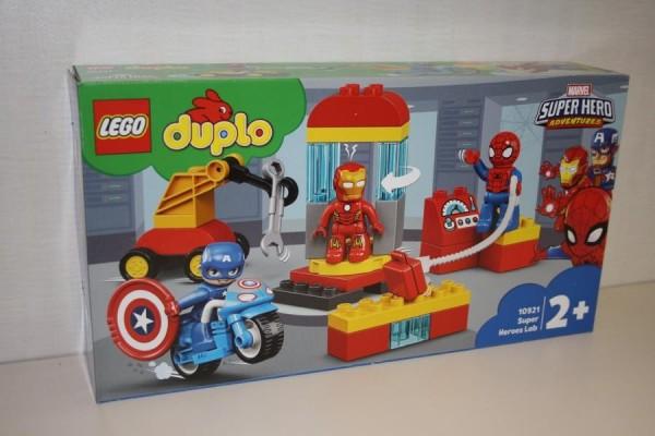 LEGO DUPLO Iron Mans Labor-Tr