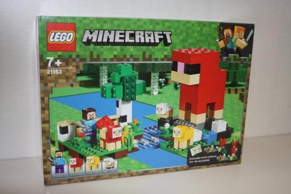 LEGO Minecraft Die Schaffarm