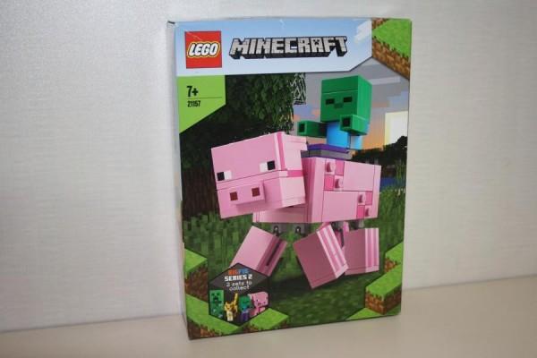 LEGO Minecraft BigFig Schwein