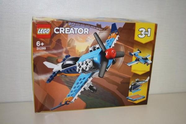 LEGO Creator Propellerflugzeu