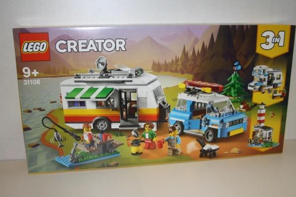 LEGO Creator Campingurlau
