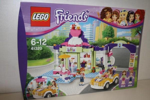 Lego Friends Eisdiele