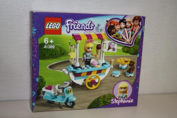 LEGO Friends Stephanies mobil