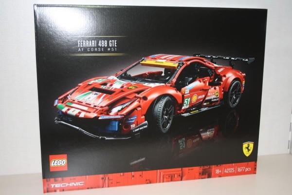 LEGO Technic Ferrari 488