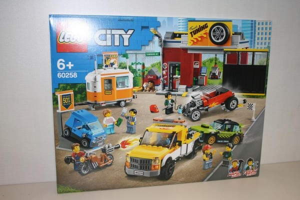 LEGO City Tuning-Werkstat