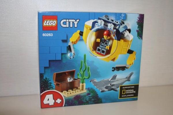 LEGO City Mini-U-Boot fr
