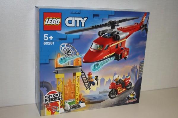 LEGO City Feuerwehrhubsch