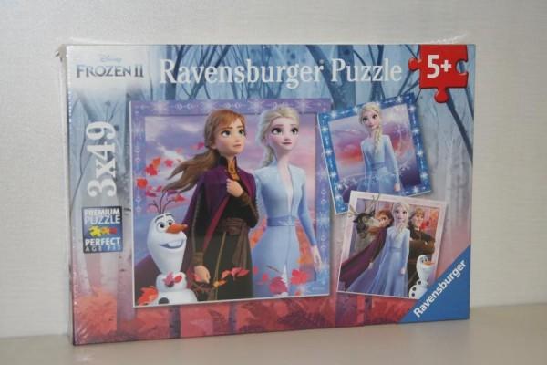 Puzzle 3x49T Frozen II Di
