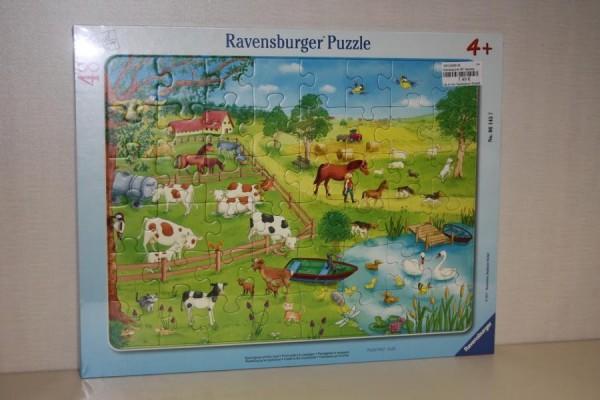 Rahmenpuzzle 48T Spazierg