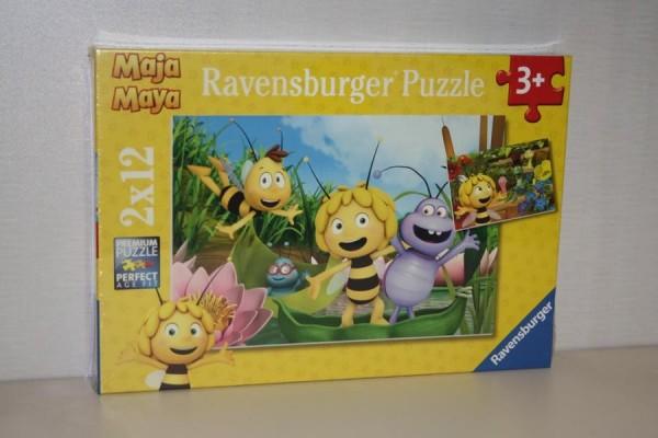 Puzzle 2x12T Biene Maja