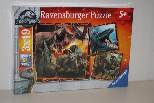 Puzzle 3x49T Jurassic Wor