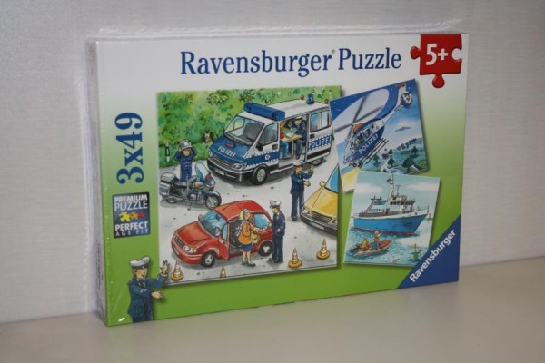 Puzzle 3x49T Polizeieinsatz