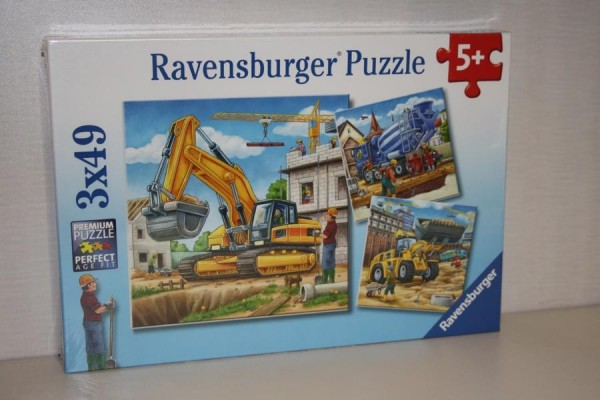 Puzzle 3x49 Teile Große...