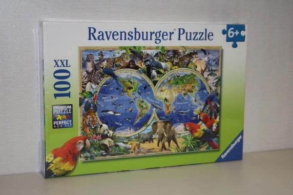 Puzzle 100T XXL Tierisch