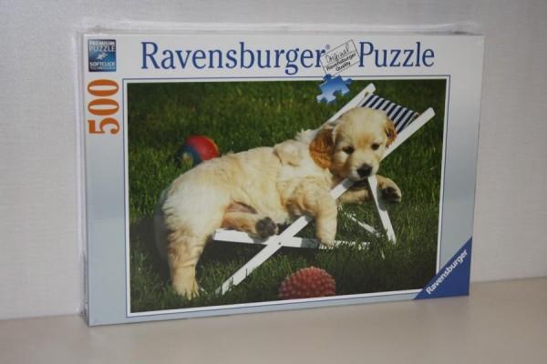 Puzzle 500T Golden Retriever