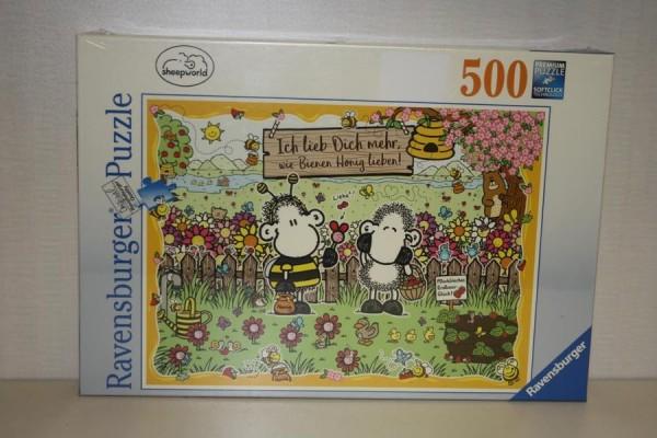 Puzzle 500T Bienenliebe