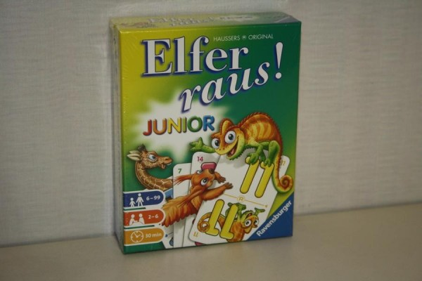 Elfer raus! Junior Karten