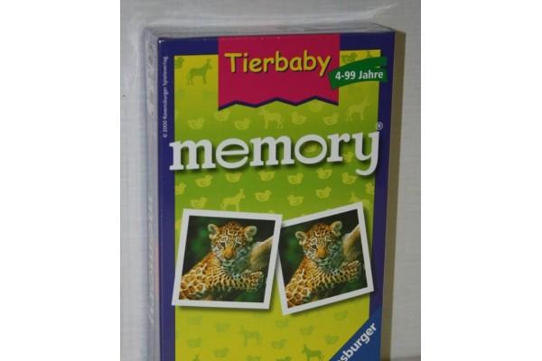 Mitbringspiel Tierbaby Memory
