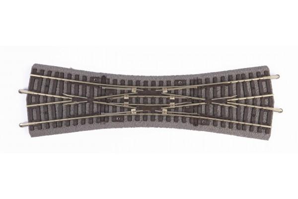 A-Gleis m. Bett. Doppelkreuzu