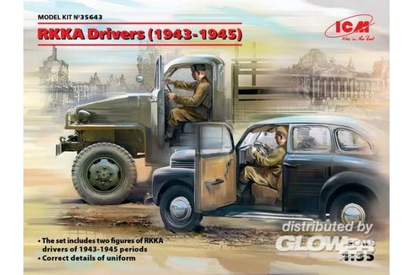 RKKA Drivers(1943-1945)(2 Fig