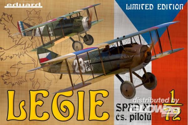 Legie-SPAD XII cs.pilotu,Limi