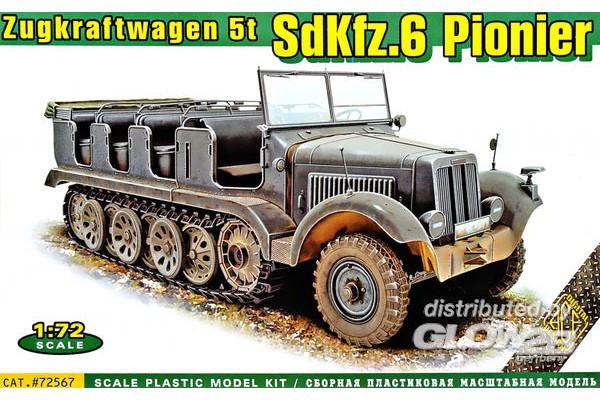 SdKFZ.6 Pionier Zugkraftwagen