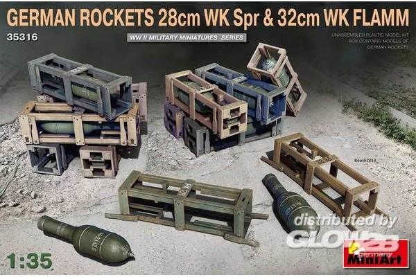 German Rockets 28cm WK Spr &