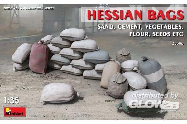 Hessian Bags (sand, cement, v