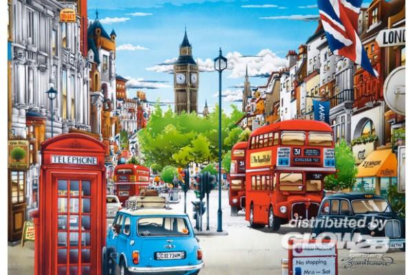 London, Puzzle 1500 Teile