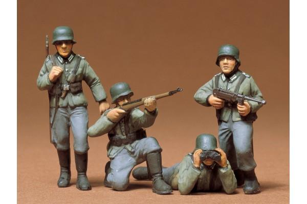 1:35 Fig.-Set Dt. Infanterie