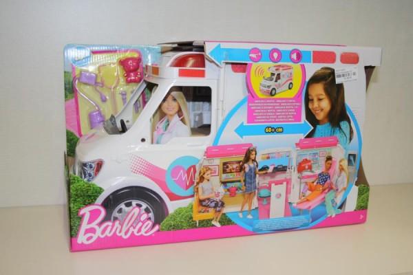 Barbie Krankenwagen 2in1