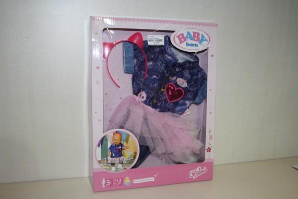 B.B. Deluxe Jeans Kleid