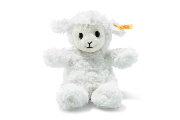 Fuzzy Lamm 18 weiss