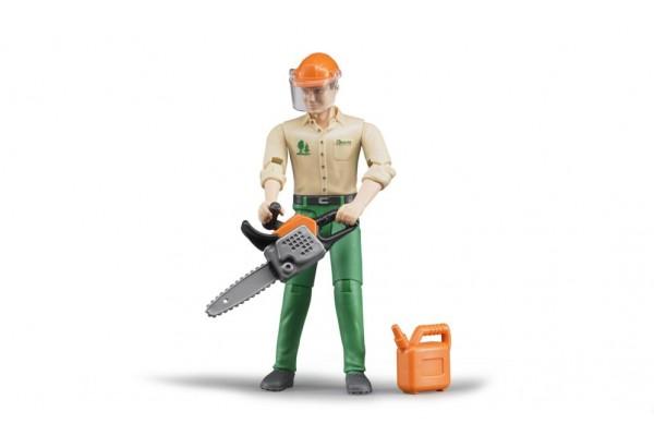 bworld Forstarbeiter mit Zube