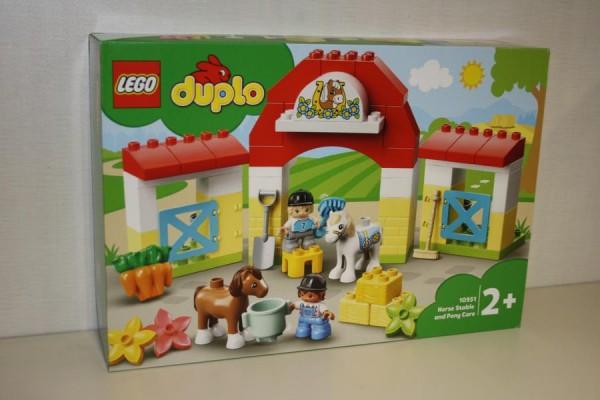 LEGO Duplo Pferdestall und...